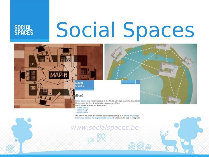 Social Spaces www.socialspaces.be