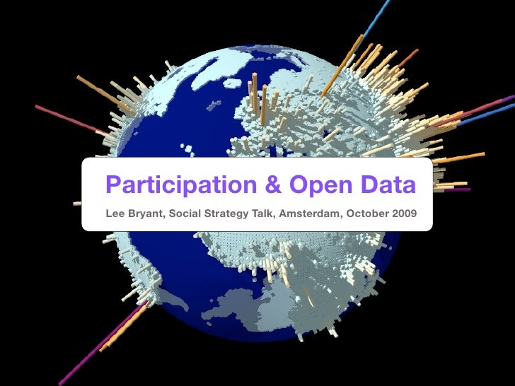 Participation and Open Data