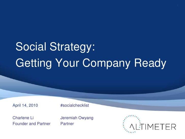 Socialstrategygettingcompanyreadyapr14final 100414202418-phpapp01