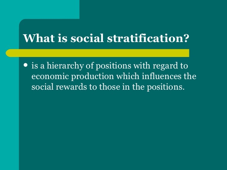 a description of social stratification as the root of social inequalities Social inequality and educational disadvantage some researchers claim, on one hand, that educational inequality is due to social class and family background.