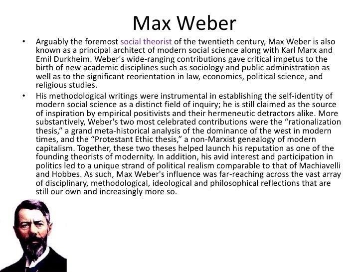 max weber class