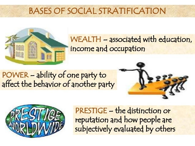 stratification sociology and social structure