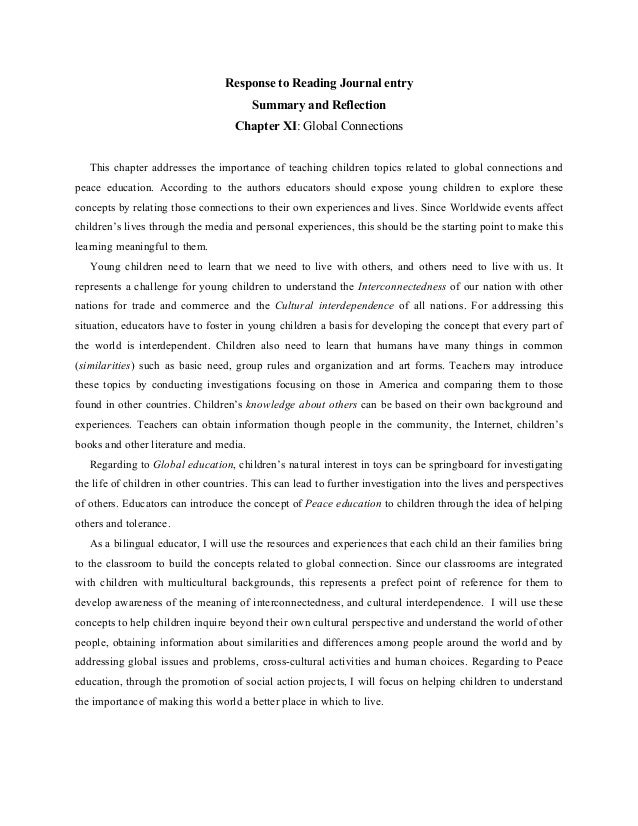 Dissertation examples early childhood studies