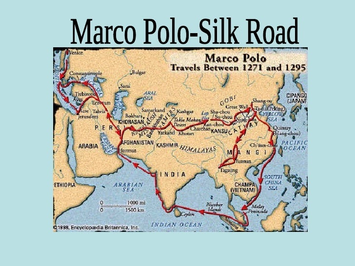 Marco polo the explorer