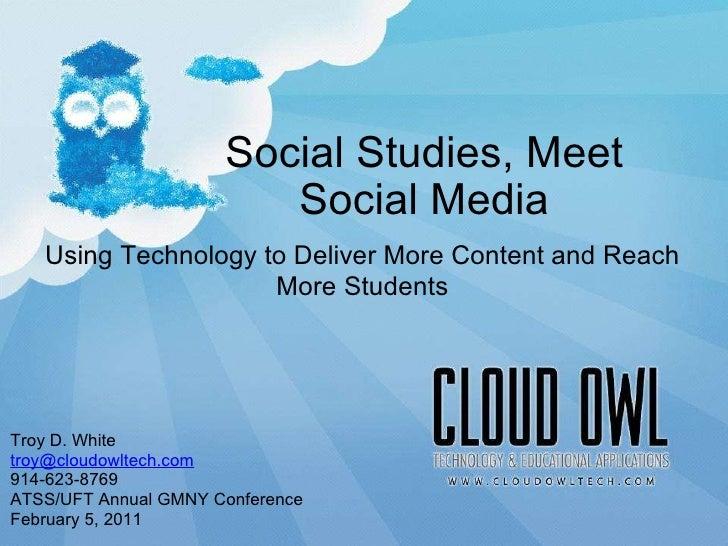 Social Studies, Meet Social Media, by Troy D. White