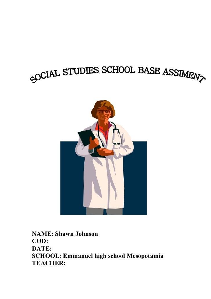how to get better in social studies in high school