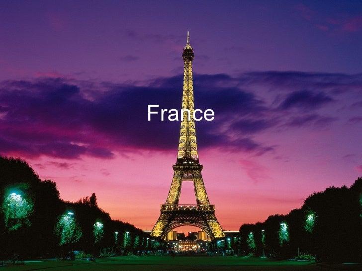 Social Studies Slide Show  France
