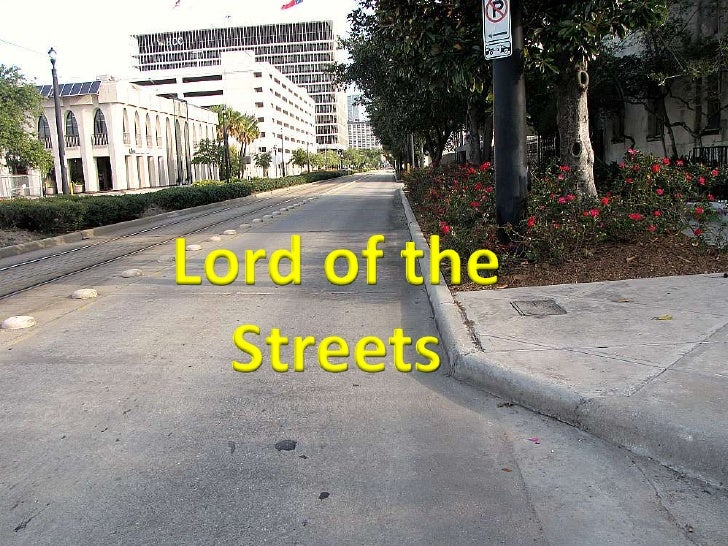 Social Studies Visual --Lord of the Streets
