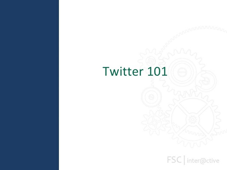 Social Summit: Twitter 101