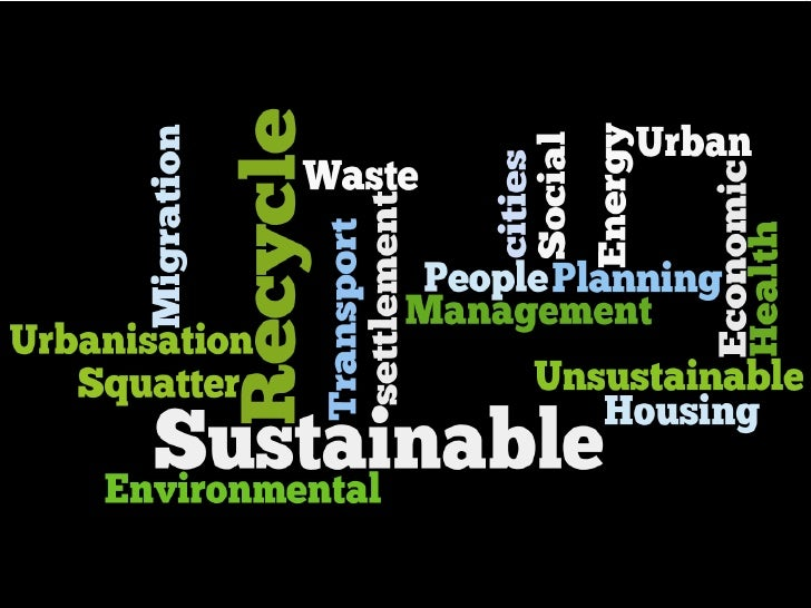 Social Sustainability In Cities