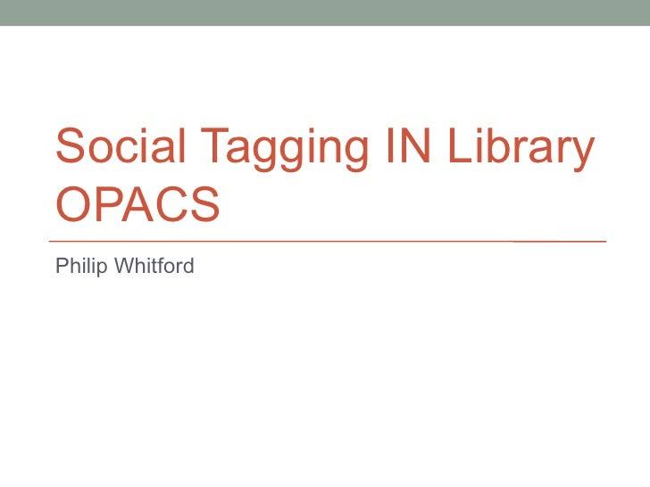 Social tagging 663