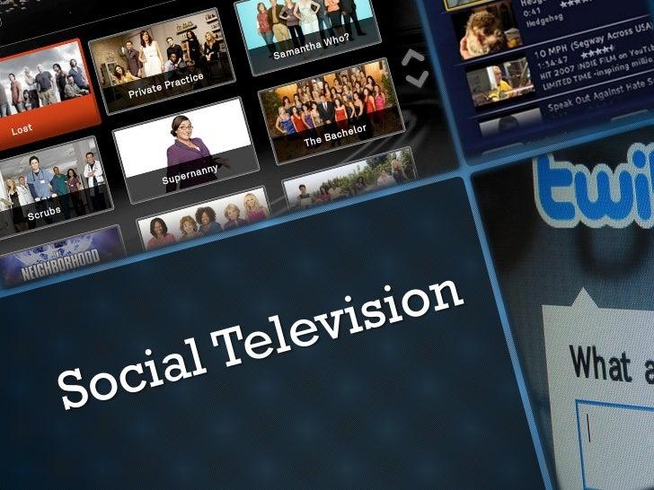 Social television