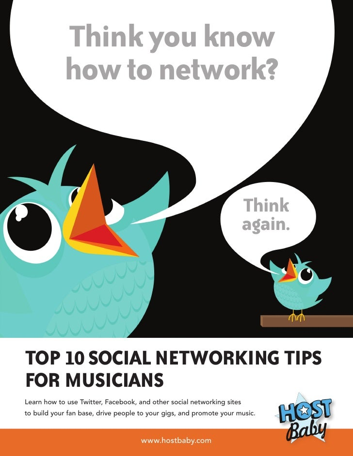 Think you know            how to network?                                                                        Think    ...