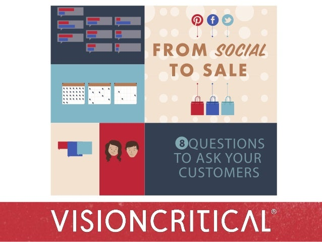 From Social to Sale: 8 Questions to Ask Your Customers