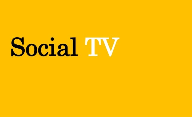 Social TV - 2014 Overview