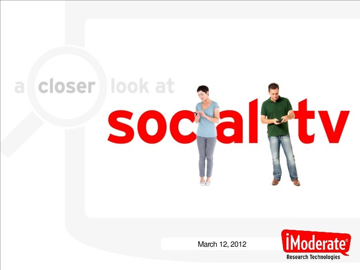 A Closer Look At Social TV