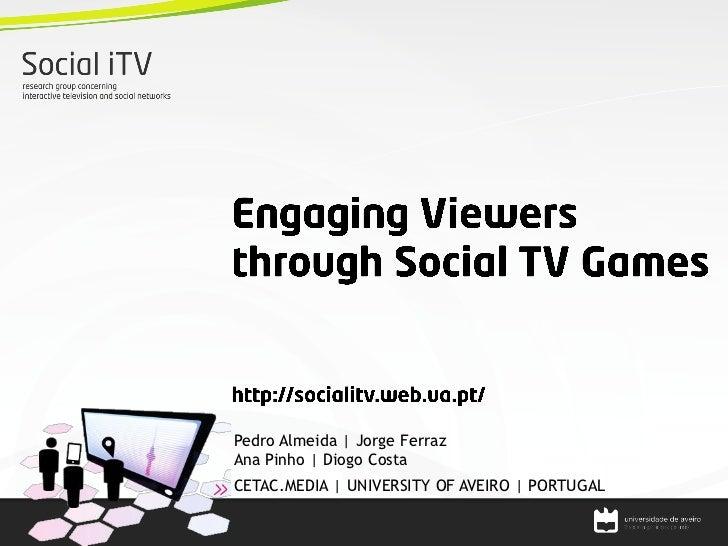 Social iTV Games