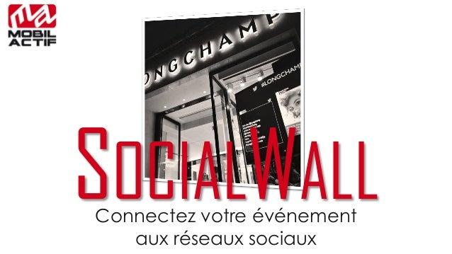 SOCIALWALLConnectez votre événement aux réseaux sociaux