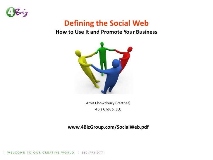 Presentation Social Web 2
