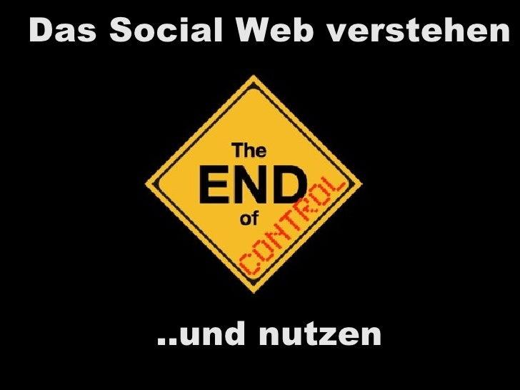 Das Social Web verstehen und nutzen
