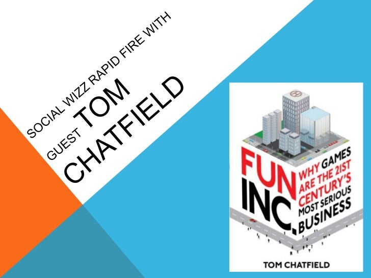 Social wizz rapid fire with guest tom chatfield