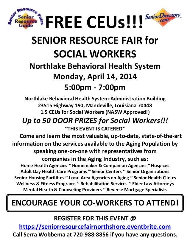 Senior Health Fair Senior Resource Fair For