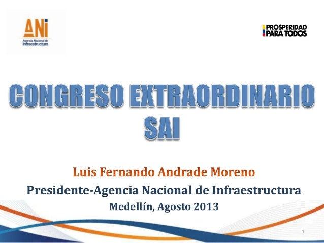 Presentación Congreso Internacional de Ingeniería y Arquitectura SAI