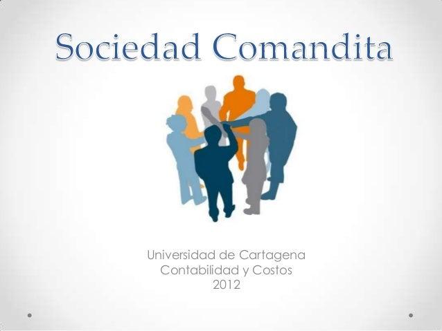 Universidad de Cartagena  Contabilidad y Costos           2012