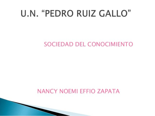 SOCIEDAD DEL CONOCIMIENTO NANCY NOEMI EFFIO ZAPATA