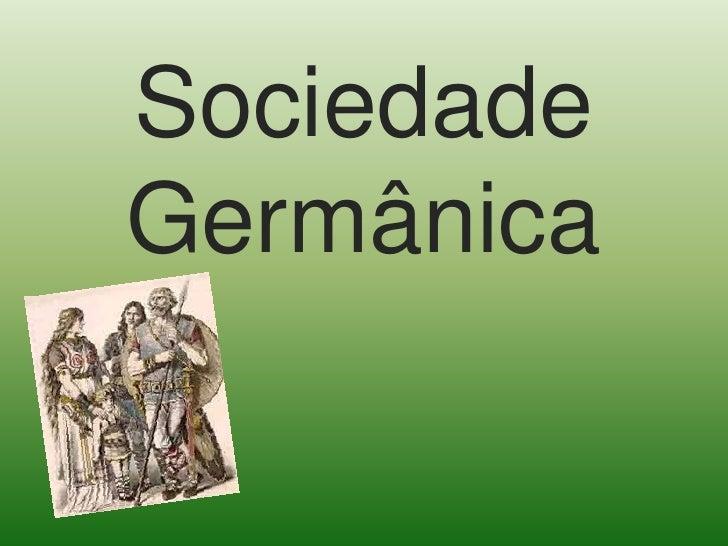 Sociedade Germânica<br />