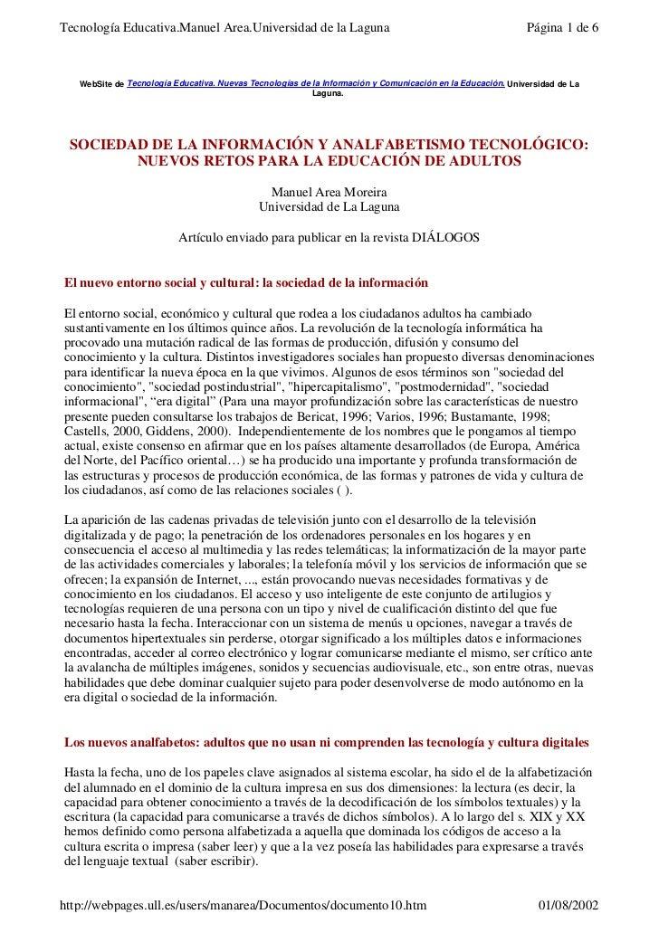 Tecnología Educativa.Manuel Area.Universidad de la Laguna                                                    Página 1 de 6...