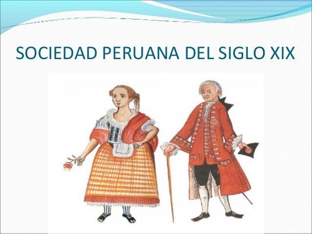 Sociedad peruana del siglo xix for Diseno de interiores siglo xix