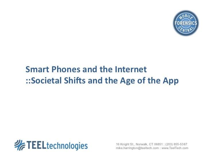 Smart Phones & the Internet