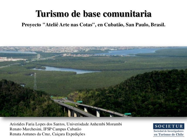 Turismo de Base Comunitária y Responsabilidad Social Corporativa