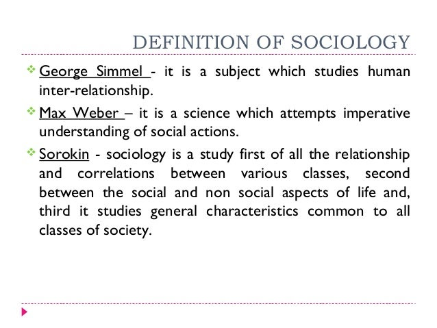 Essay on significance of sociology