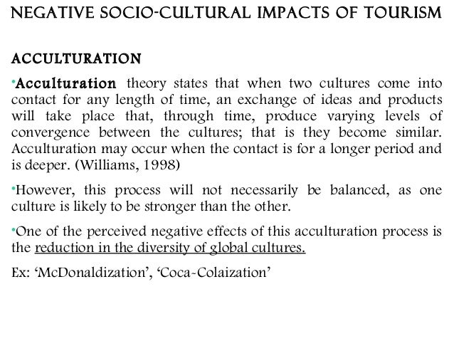 socio cultural effects of tourism on jamaica essay Tourism essay on the caribbean  negative effects of tourism on the ecology of jamaica by elaina kozyr blpr 10151  socio-cultural impact of tourism .