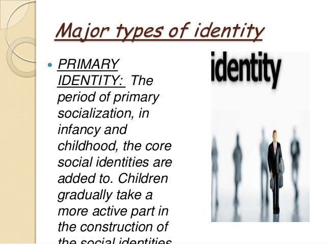 personal and social identity In psychology, identity is the qualities, beliefs, personality, looks and/or expressions that make a person (self-identity) or group (particular social category or social group.