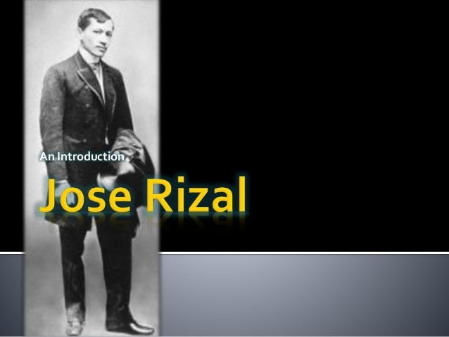 introduction of jose rizal movie Introduction the second and last novel completed by josé rizal (though he  left behind the unfinished manuscript of a third one), el filibusterismo is a.