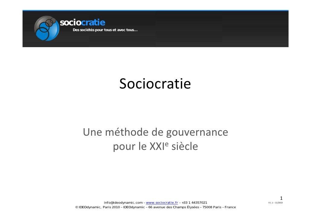 Sociocratie (2)