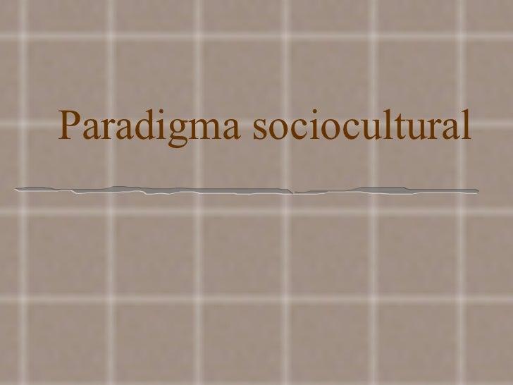 Sociocultural(2)