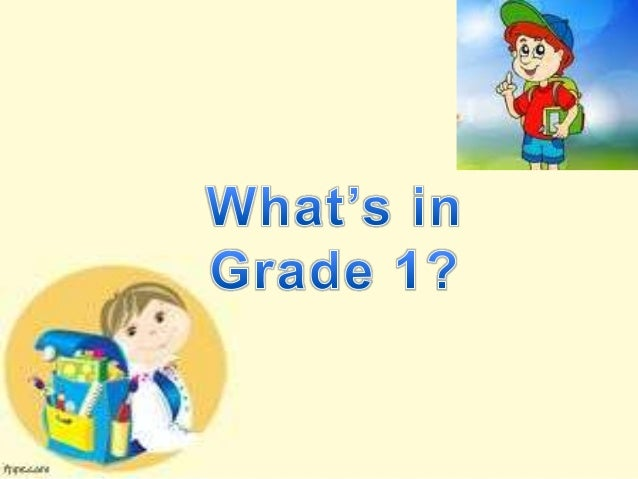 Socio Emotional Expectations of a Grade 1 Pupil