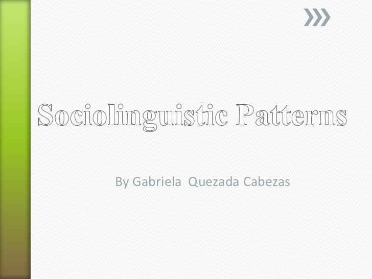 By Gabriela Quezada Cabezas