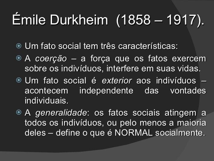 Sociologia clássica 1