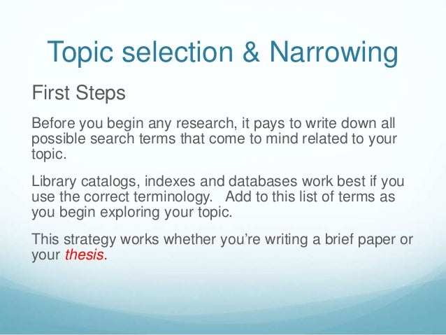 The issue: Sociology term paper.Need help in narrowing it down.?