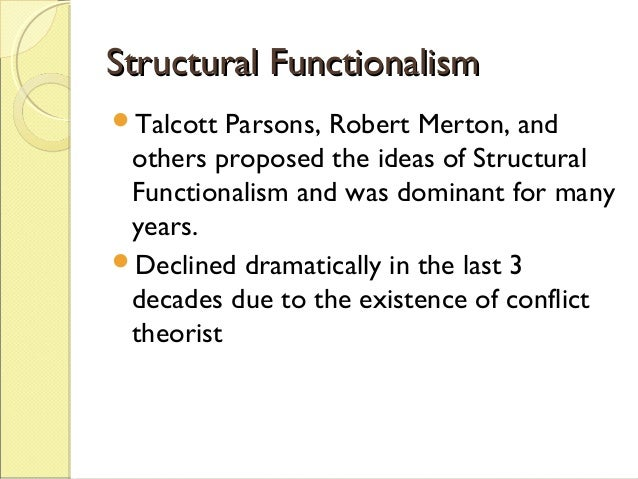 structural functionalism neo functionalism conflict theory Structural functionalism, neo-functionalism conflict theory & system theory the origin of sociology developed and took place in europe during the early eighteenth and nineteenth centuries the factors that led to the development of sociology are industrial economy, the growth of cities, and political change.