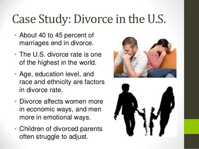 focus on family and marriage can overshadow ideals of divorce A psychiatrist explores intimacy and autonomy--and they range from freud's theories of the early family to both prozac and divorce have their role, either can.