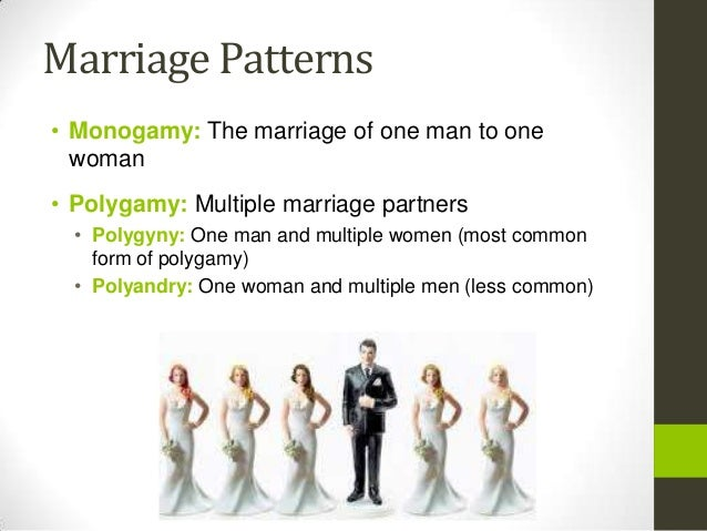an analysis of monogamy marriage and polygyny Start studying mating systems: polygamy, polygyny, monogamy learn vocabulary, terms, and more with flashcards, games, and other study tools.