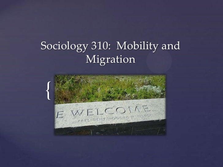 Sociology 310