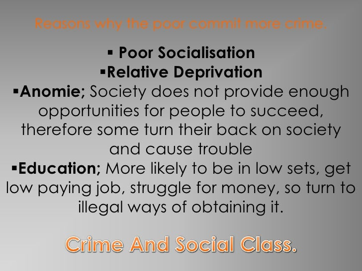 the causes of organized crime do Myths and realities of drug addiction, consumption, and crime it is not that addiction causes crime organized crime or whatever else you want to call it.
