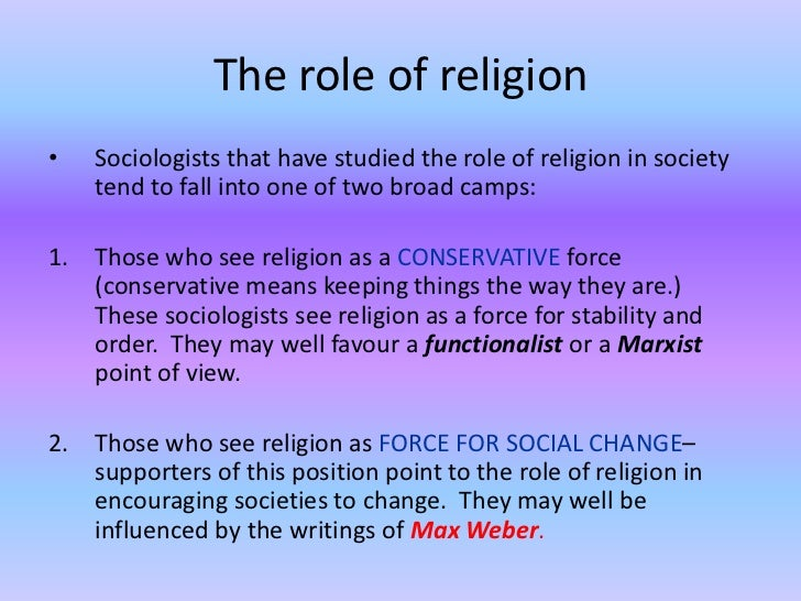 essay on markist view of religion